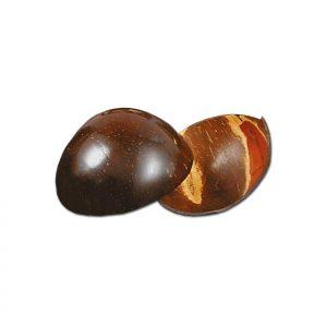 Bröselschale aus Kokosnuss