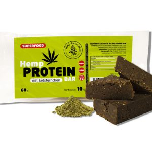 Hanf Proteinriegel mit Erdsternchen