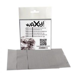 WAXY!Screen X3 Edelstahlsiebe 25µ & 50µ