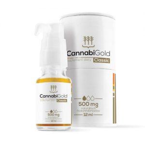 CannabiGold 10% Classic Vollspektrum-CBD ÖL mit 500mg CBD und 500mg CPDa pro Flasche